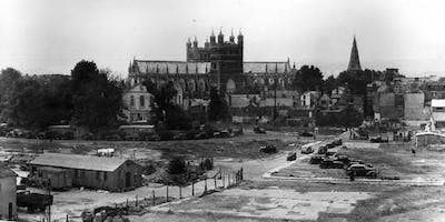 The Rebuilding of Exeter after the ***** by Clare Maudling