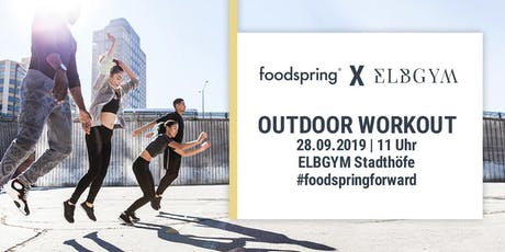 foodspring x Elbgym Workout Masters Vol. 2 Tickets