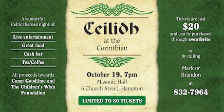 Ceilidh at the Corinthian tickets
