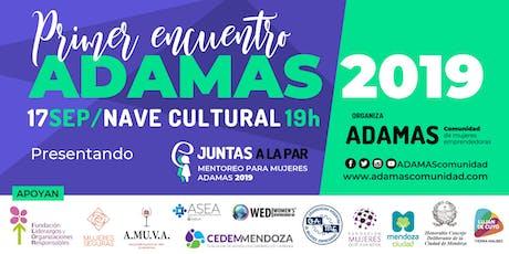 Primer encuentro ADAMAS 2019 entradas