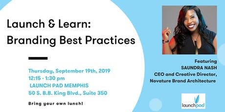 Launch & Learn: Branding Best Practices tickets