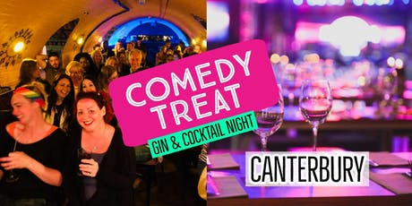 Comedy Treat - Gin & Cocktail Special (Bramleys) tickets