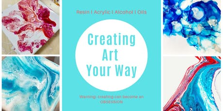 Creating Art Your Way tickets