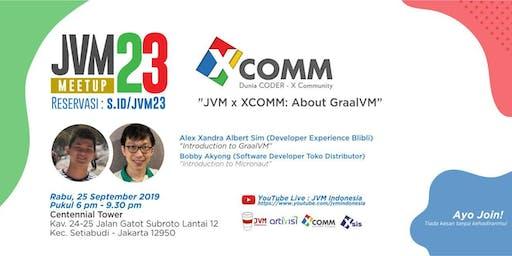 JVM Meetup #23 - JVM x XCOMM  - About GraalVM