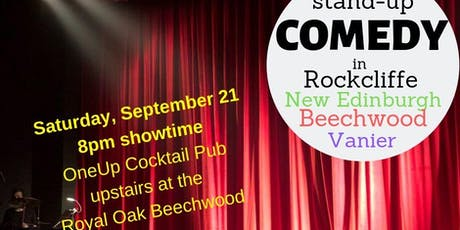 Comedy Night in New Edinburgh Rockcliffe Ottawa - September 21 tickets