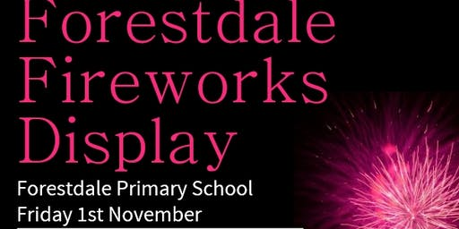 Forestdale Firework Display