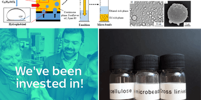 Cellulose microbeads as a replacement for plastic microbeads: From synthesis to commercialisation - Prof Davide Mattia, University of Bath