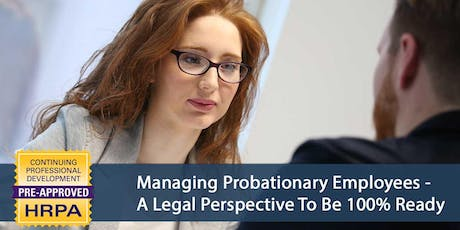Managing Probationary Employees tickets