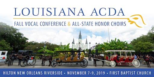 2019 Louisiana ACDA Fall Vocal Conference
