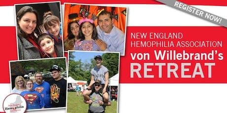 Annual Von Willebrand's Retreat tickets