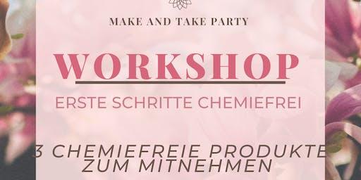 Make and Take Chemiefrei leben mit ätherischen Ölen