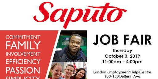 Saputo Job Fair