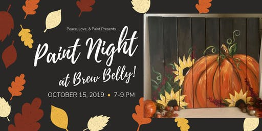 Paint Night at Brew Belly!
