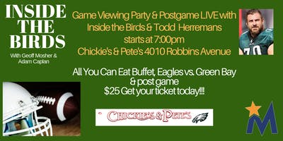Inside the Birds Eagles Game Watching Party & Postgame Live from Mayfair