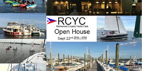 Open House - Richmond County Yacht Club - Great Kills Harbor, Staten Island tickets
