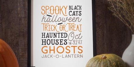 Spirit of Halloween tickets