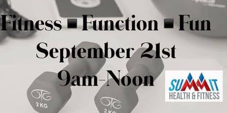 Fitness Function Fun Open House tickets