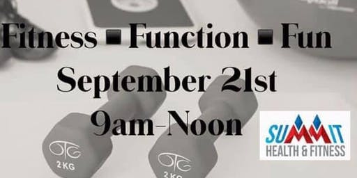 Fitness Function Fun Open House