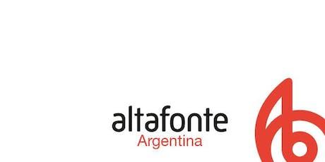 II Jornada Digital Altafonte Network en Argentina entradas
