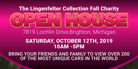 Lingenfelter Car Collection Annual Fall Open House tickets