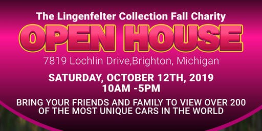 Lingenfelter Car Collection Annual Fall Open House