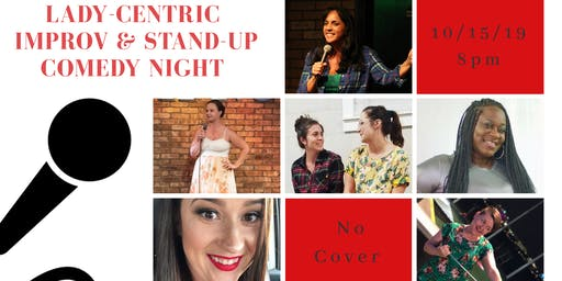 Lady-Centric Improv & Comedy Night at Maxine's on Shine