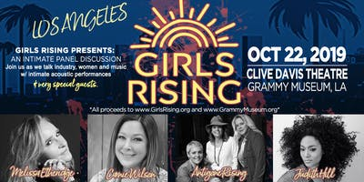 Girls Rising Presents: An Intimate Panel Discussion