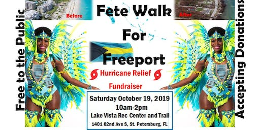 Fete Walk for Freeport: Fitness and Fundraiser