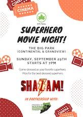 SUPERHERO MOVIE NIGHT! tickets