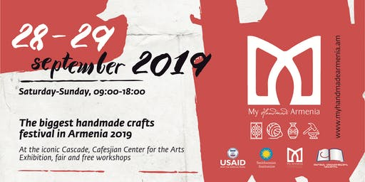 My Handmade Armenia Crafts Festival 2019