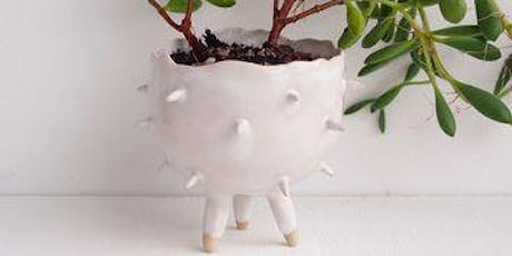 Cactus Planter Making Class - Hand-building with Clay tickets