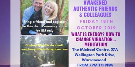 What is Energy? Discover how to change your Vibration & Meditation tickets