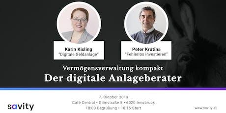 Vermögensverwaltung kompakt - Der digitale Anlageberater Tickets