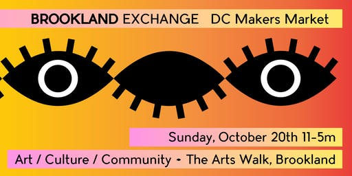 Brookland Exchange // DC Artist & Makers Market + Tiny Show! by Hen House DC