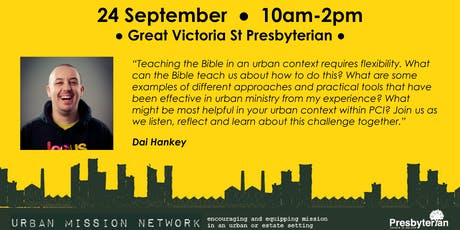 PCI Urban Mission Network Gathering 24 Sept 2019 tickets