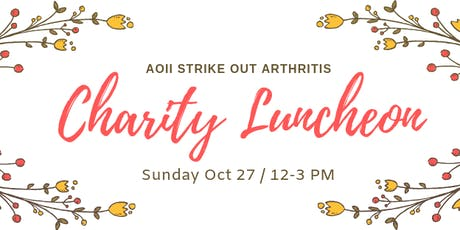 Strike Out Arthritis Charity Luncheon tickets
