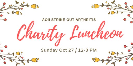 Strike Out Arthritis Charity Luncheon