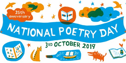 Cheltenham Library - National Poetry Day Pop Up Poetry Café