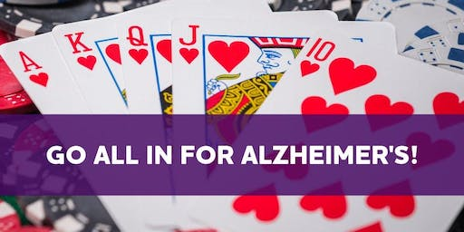 GO ALL IN- END ALZ RVA - Poker Tournament