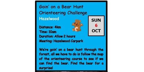 Autumn Winter Adventure Walks Series 2019 - Walk 1-  Going on a Bear Hunt Orienteering Challenge tickets