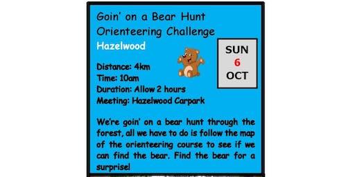 Autumn Winter Adventure Walks Series 2019 - Walk 1-  Going on a Bear Hunt Orienteering Challenge