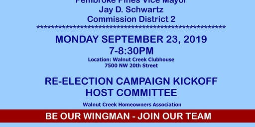 Schwartz Re-Election Campaign Kickoff Event