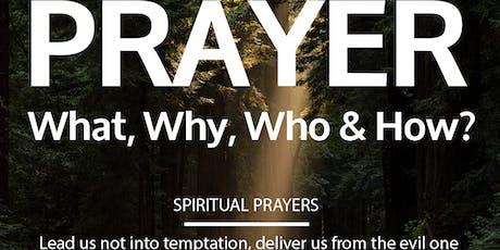 PRAYER: Spiritual Prayers tickets