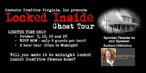 Ghost Walks: Locked Inside