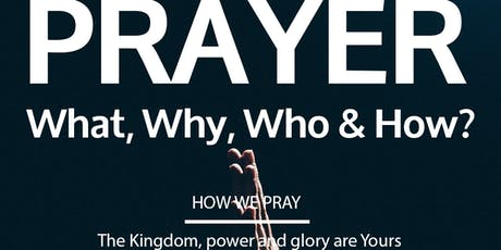 PRAYER: HOW? Ideas for daily life tickets