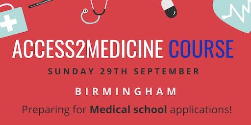 ACCESS2MEDICINE COURSE - Birmingham