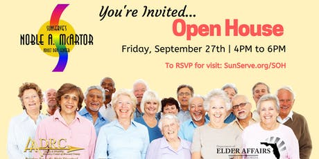 SunServe Senior Center Open House tickets