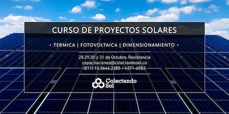 Curso de Proyectos Solares Resistencia / Octubre 2019 entradas
