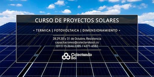 Curso de Proyectos Solares Resistencia / Octubre 2019