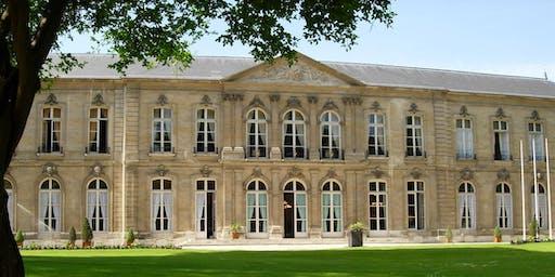 Visite de l'hôtel de Brienne, cabinet de la ministre des Armées - JEP 2019